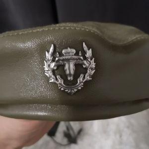 Rudsak leather beret